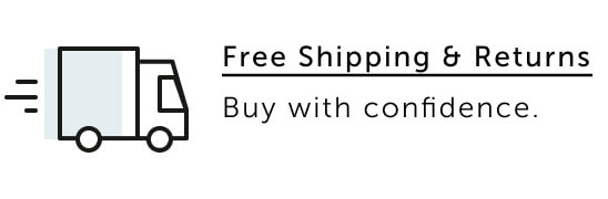Free Shipping - Buy with confidence.