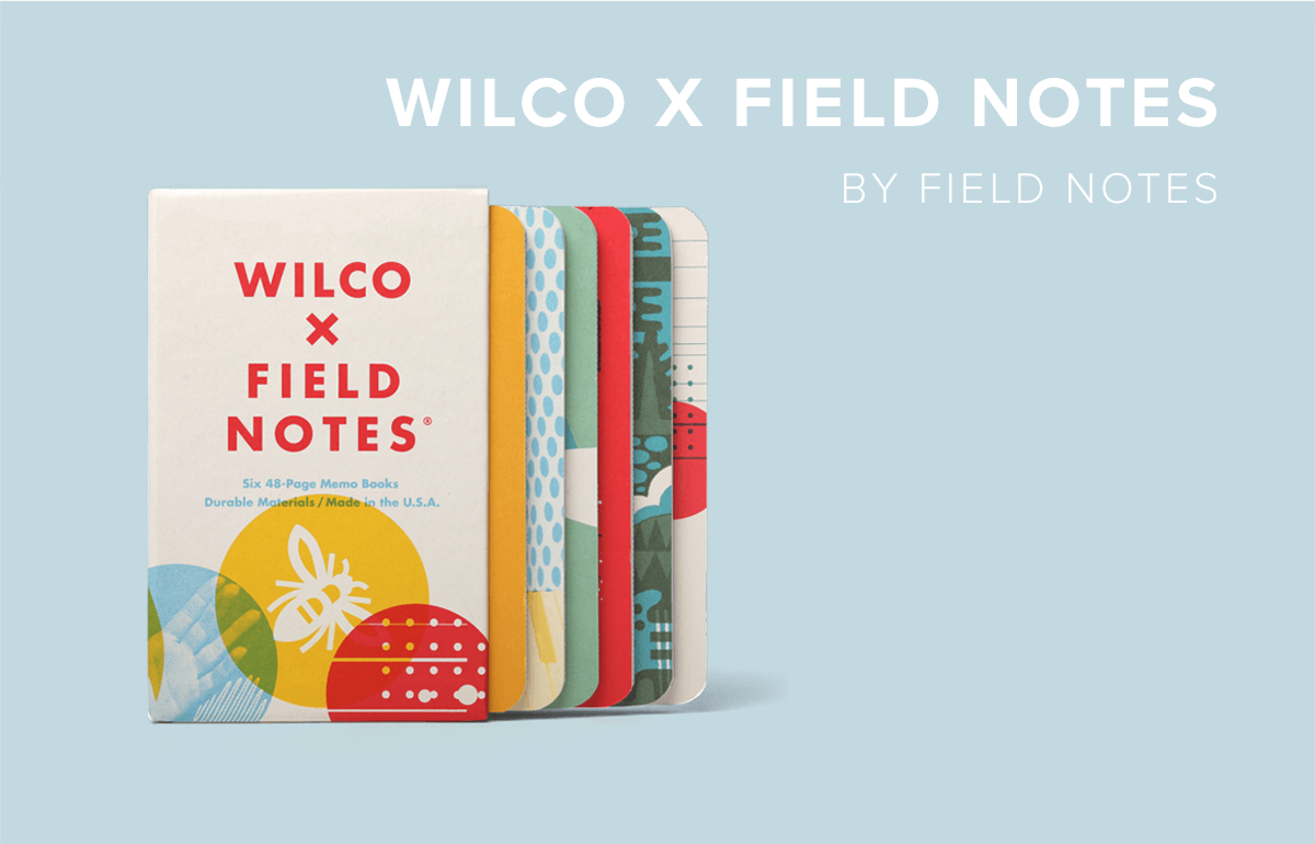 Wilco X Field Notes by Field Notes
