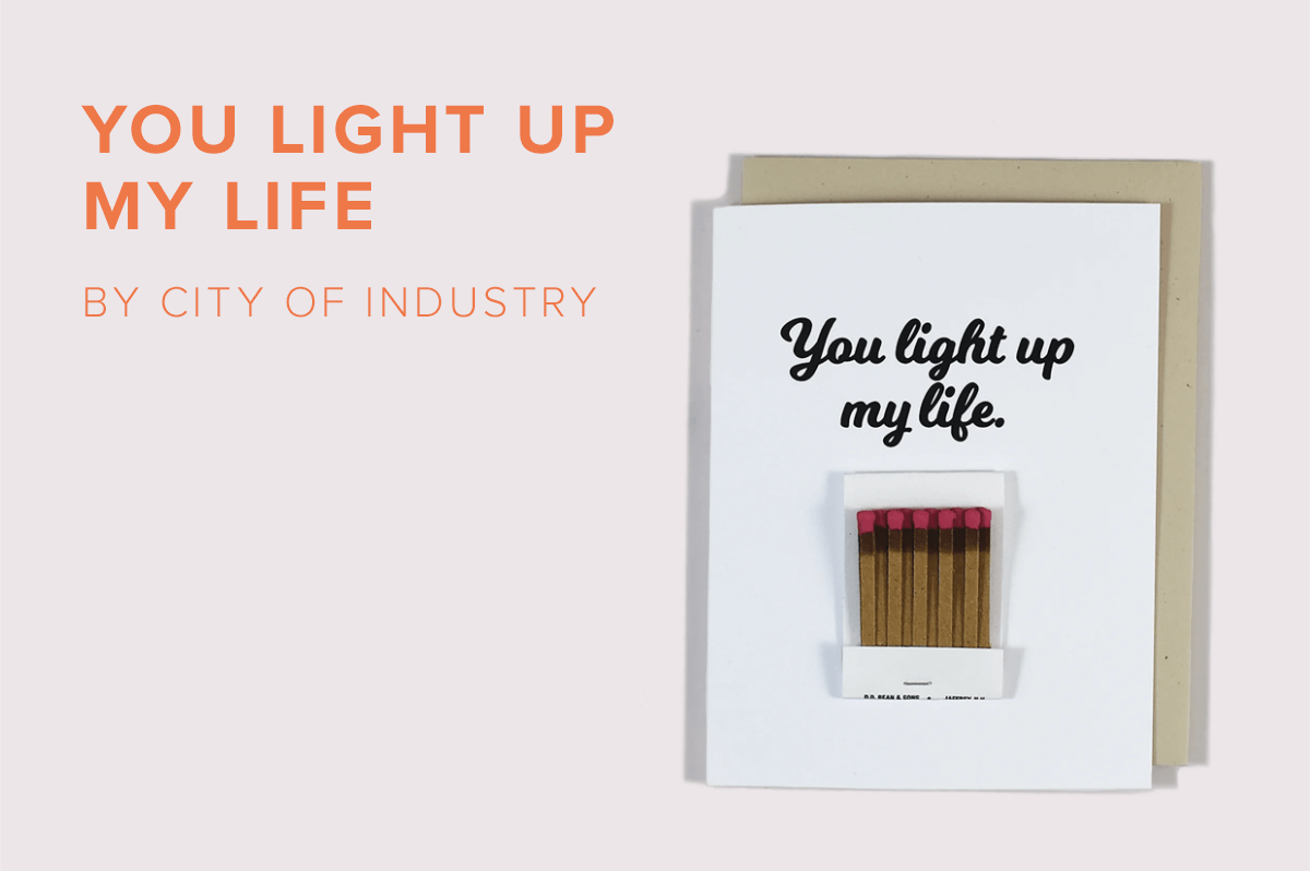 You Light Up My Life by City of Industry